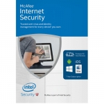 McAfee Internet Security 1 rok, 1 komputer
